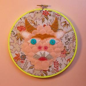 Kristen M. Liu Artist Contemporary Art in the USA at Pop Shop America DIY Blog