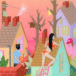 Kristen M. Liu Contemporary Illustration Pop Art at Pop Shop America Art Blog