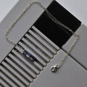 Sterling Nintendo Necklace