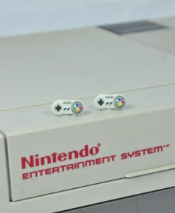 Super Nintendo Stud Earrings