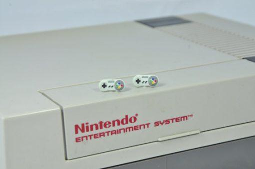 Super Nintendo Stud Earrings