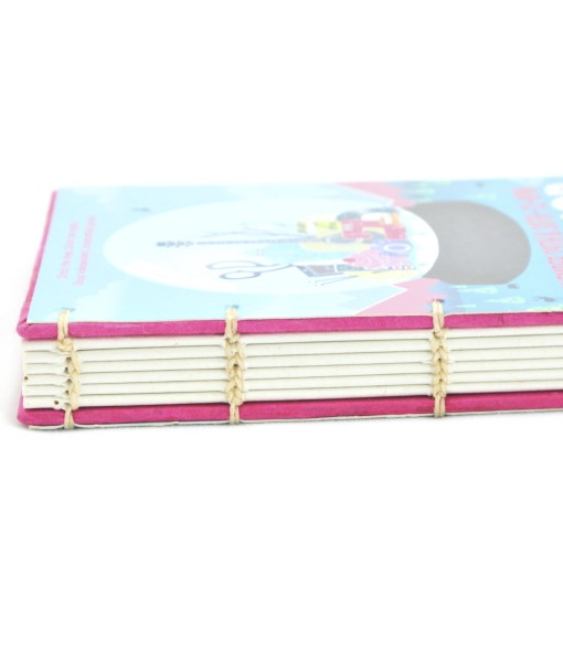 Hardcover Notebooks – Pop Shop Houston binding detail