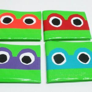 DIY Ninja Turtle Wallet