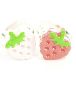 Kawaii Strawberry Rings