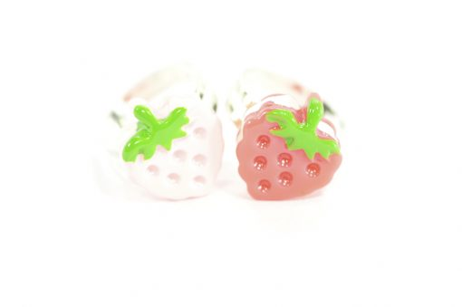 Kawaii Strawberry Rings