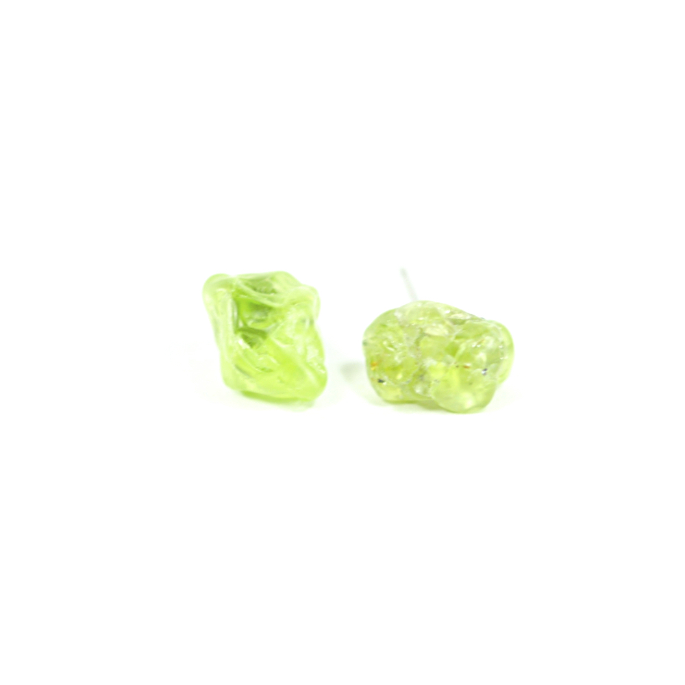 peridot stud earrings shape products cushion barmakian jewelers