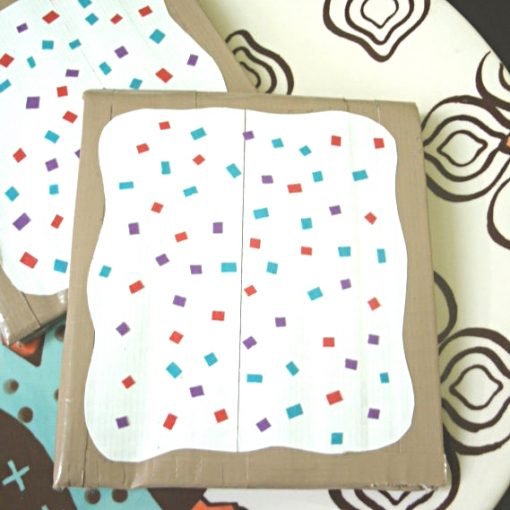 DIY Sprinkled Pop Tart Wallet