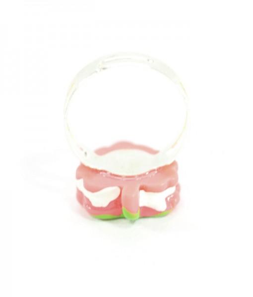 Kawaii Strawberry Ring Detail