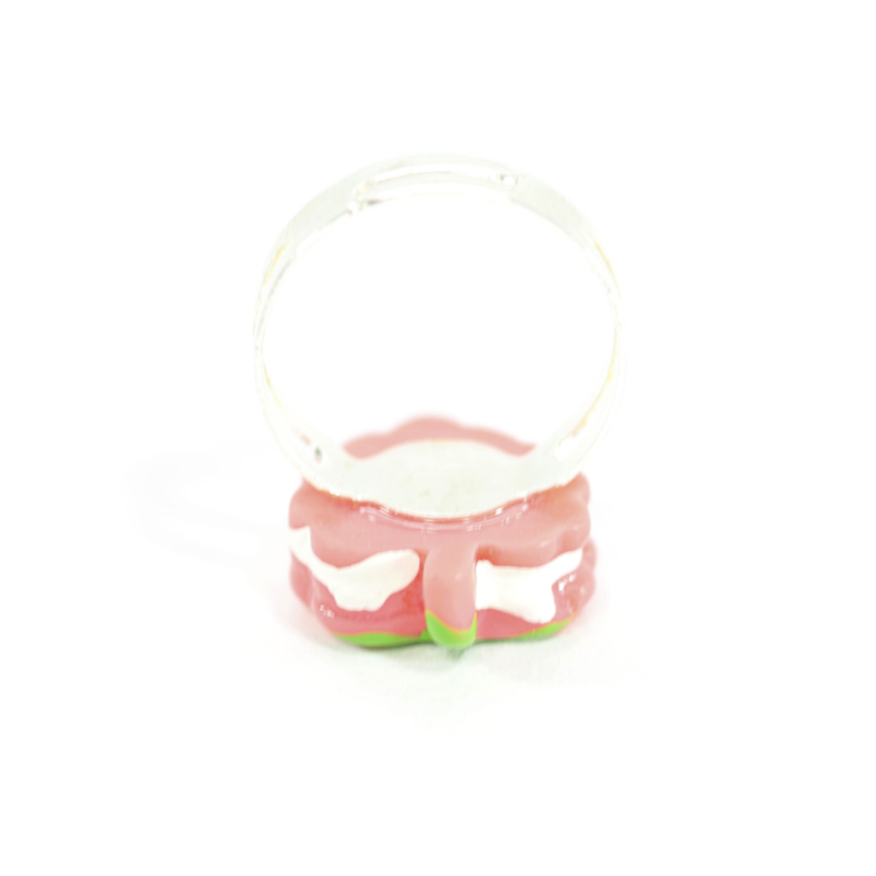 Kawaii Strawberry Ring Detail