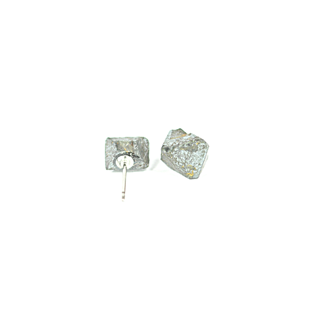 Magnetite Stud Earrings
