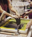 Learn how to Silkscreen screenprint at Pop Shop Houston Craft Shows in Houston 2016