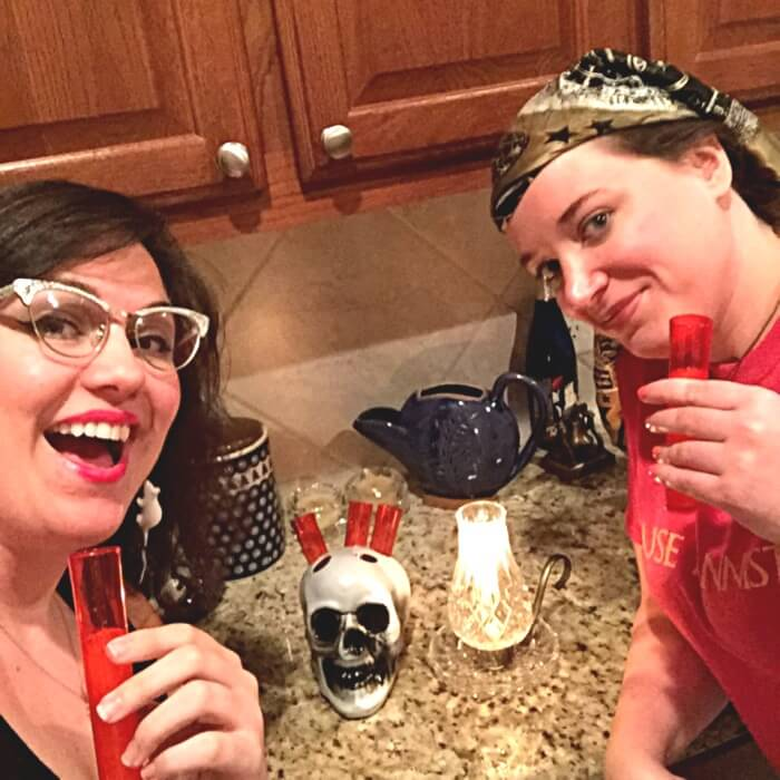 Skull Shooters | Awesome Dollar Store Halloween Supplies