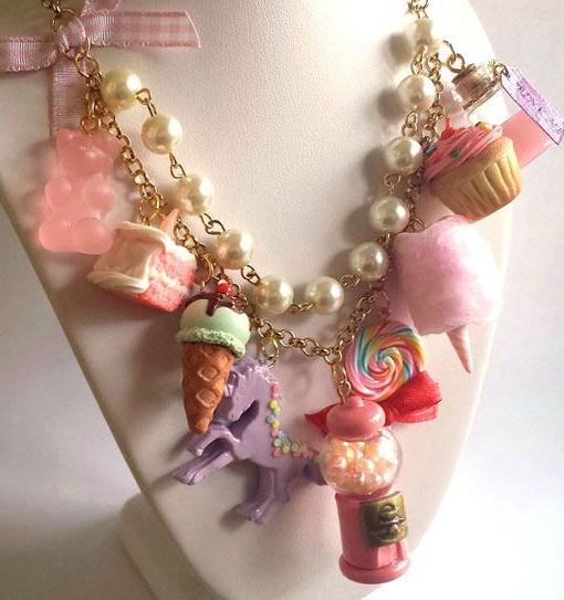 kawaii desserts necklace | Kawaii Workshop by Pop Shop America | Craft Workshops Houston at TXRX Labs Hackerspace | Makerspace