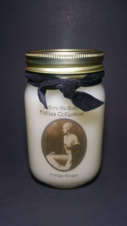 Scarlett Handmade Candle by Before the Bulb Handmade Holiday Sale 2015