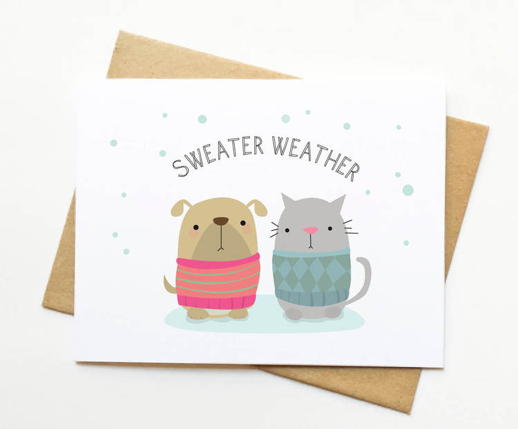 Cute Holiday Cards