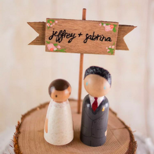 Love Birds Goods Handmade Wedding Cake Toppers | Shop Handmade Wedding on Etsy