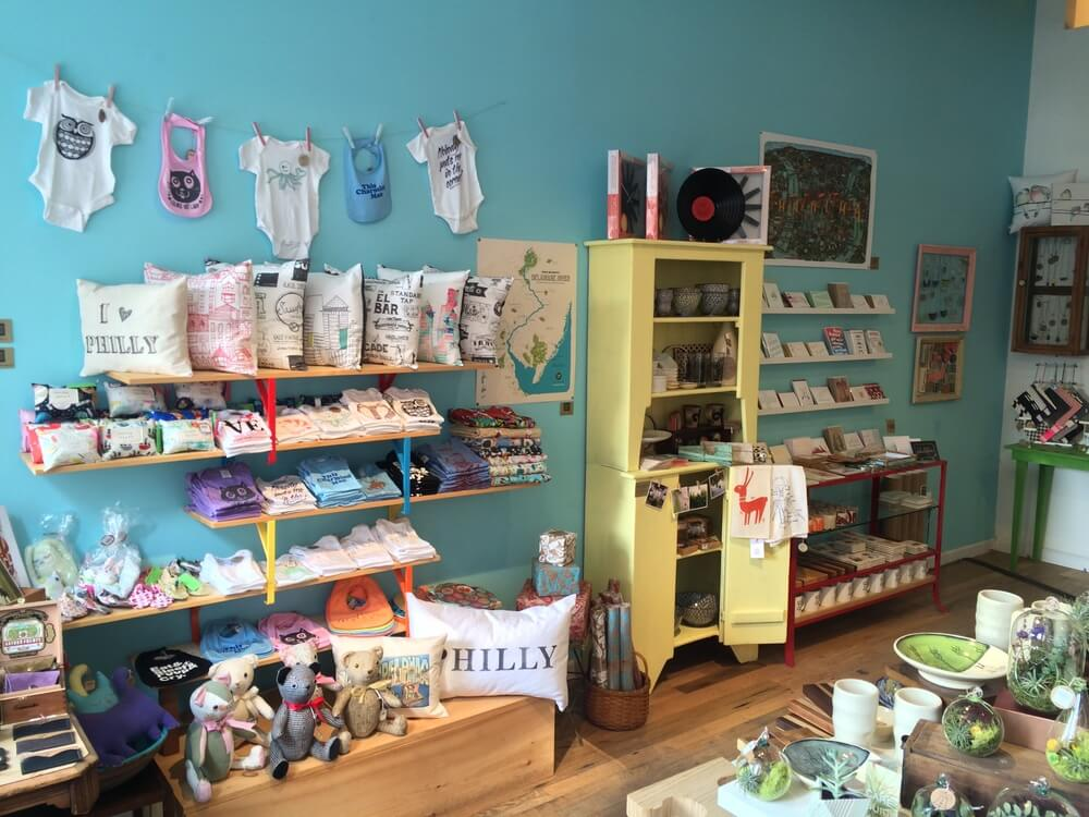 inside Philadelphia Independents Boutique | Shop Local Philly | Artisan Craft Goods | Handmade Shopping