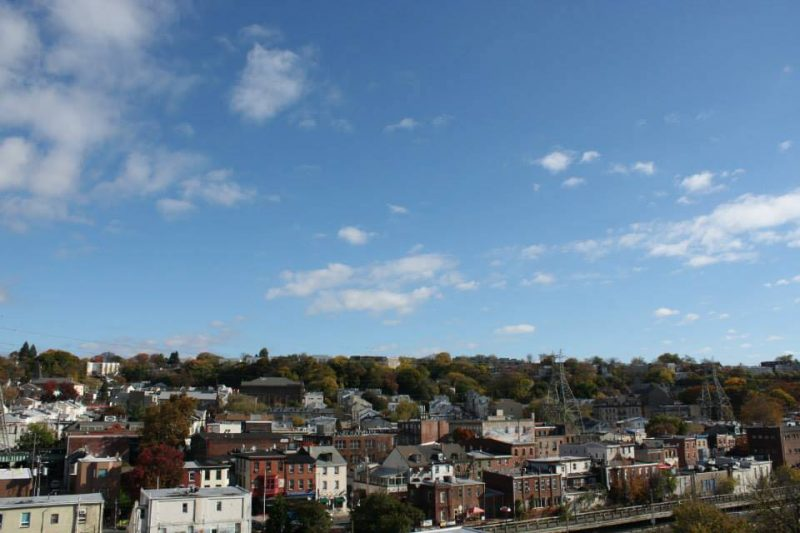 View Overlooking Manayunk | Manayunk Shopping District Philadelphia PA | Handmade and Vintage Shopping Manayunk