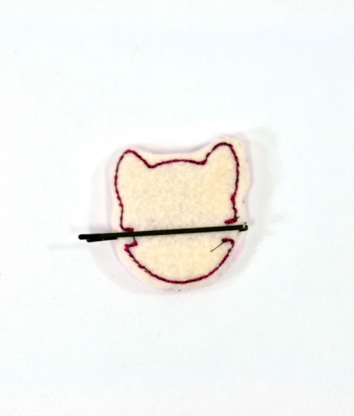 back-of-pinkie-pie-pony-my-little-pony-barrette | Handmade Hair Accessories at Pop Shop America