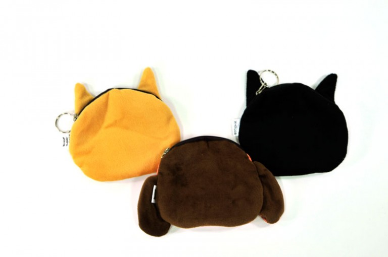back-of-puppy-coin-purse-all | coin purse with dogs | cute kawaii accessories at Pop Shop America Fashion Website