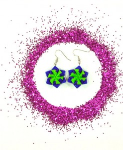 blue-and-green-origami-stars-with-glitter