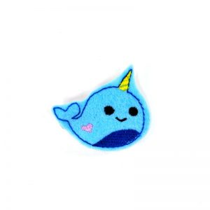 blue-narwhal-barrette | Narwhal Jewelry and Kawaii Accessories | Shop Online at Pop Shop America Fashion Boutique