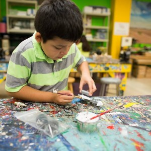 kids at txrx makerspace in houston | things to do with kids | kids activities day camp houston