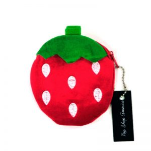 plain-red-strawberry-coin-purse