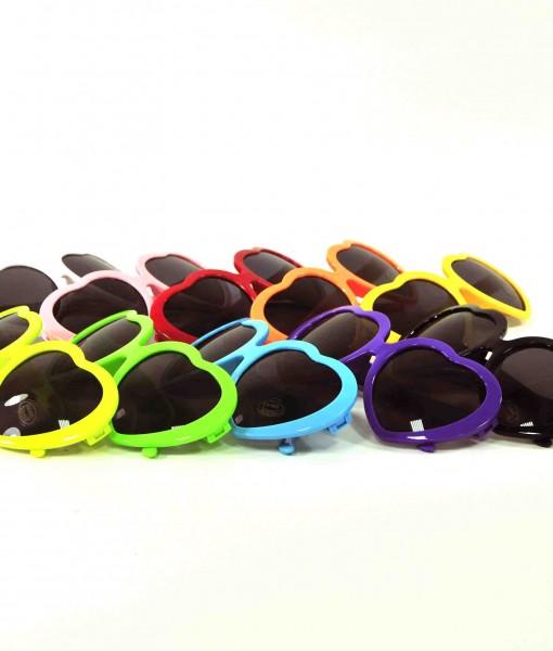 rainbow heart sunglasses all