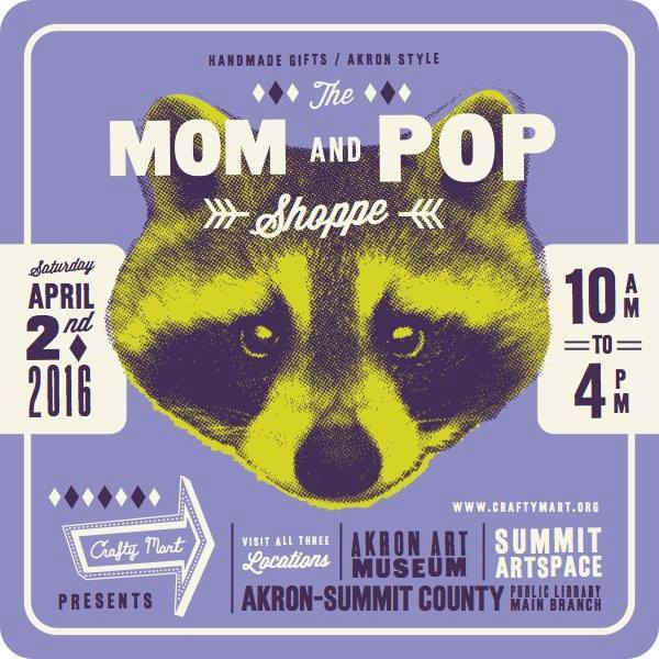 the mom and pop shoppe by crafty mart craft fair in akron
