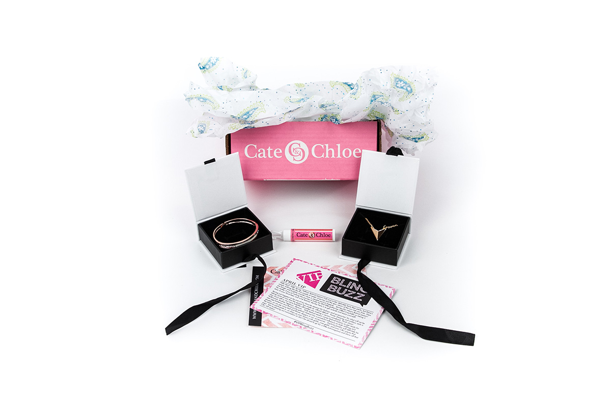 cate and chloe vip subscription box on cratejoy
