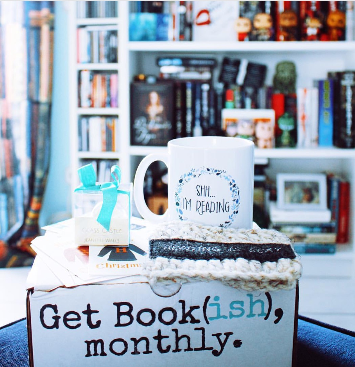 get bookish monthly subscription box