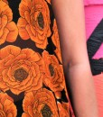 indian fabric details two flowers rickshaw tank top
