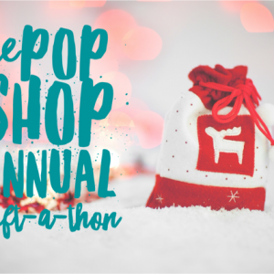 pop shop annual gift a thon homemade holiday crafts