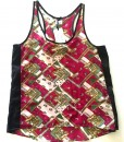 purple geometric rickshaw tank top