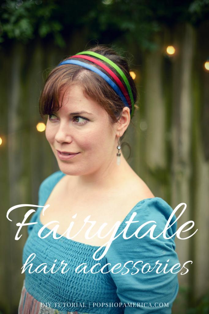 fairytale hair accessories pinterest pin