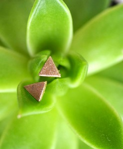 DIY Geometric Clay Earrings