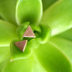 DIY Geometric Clay Earrings