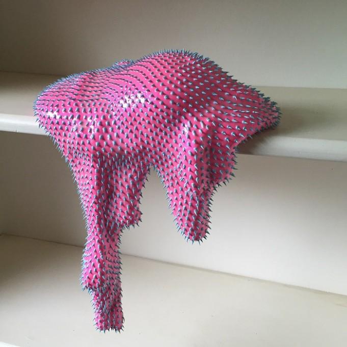 Dan Lam 'Baby Pink' Sculpture