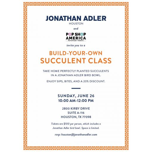 jonathan adler make your own succulent
