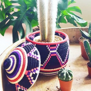 sunshine tienda fair trade woven baskets at pop shop houston
