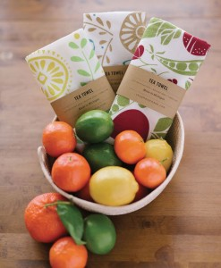 Cute Tea Towels with Fruit Pop Shop America