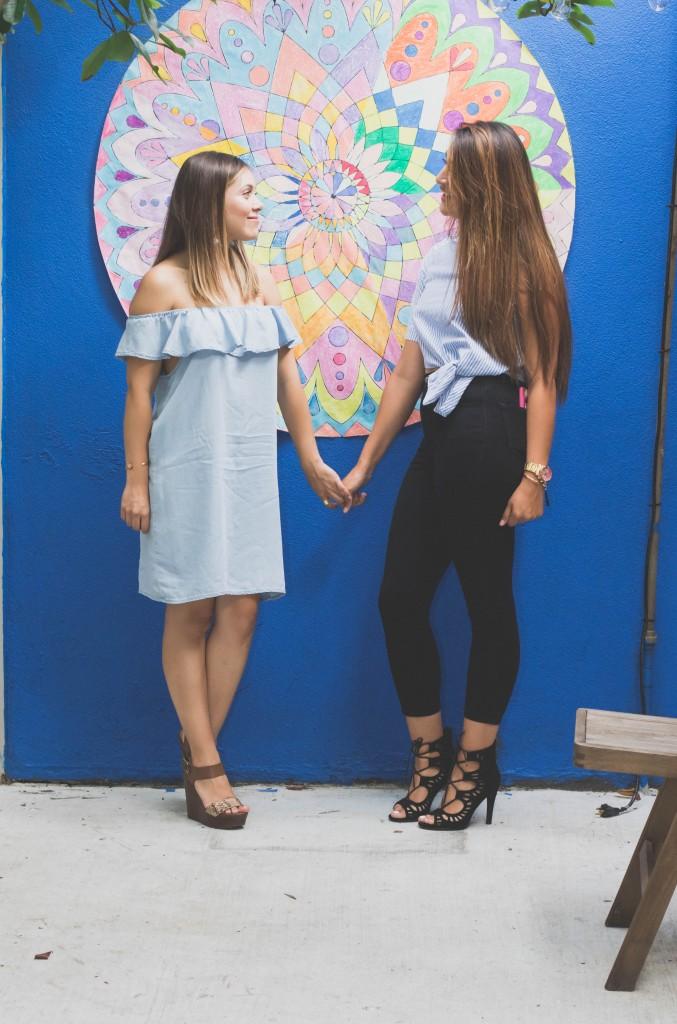 brenda and angie mandala coloring poster diy