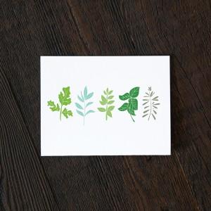 herb garden greeting card pop shop america