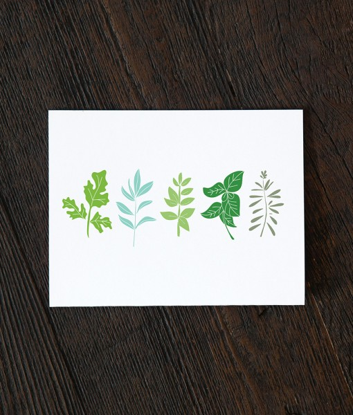 herb garden greeting card pop shop america
