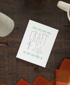shop this craft 4 life greeting card at pop shop america handmade modern