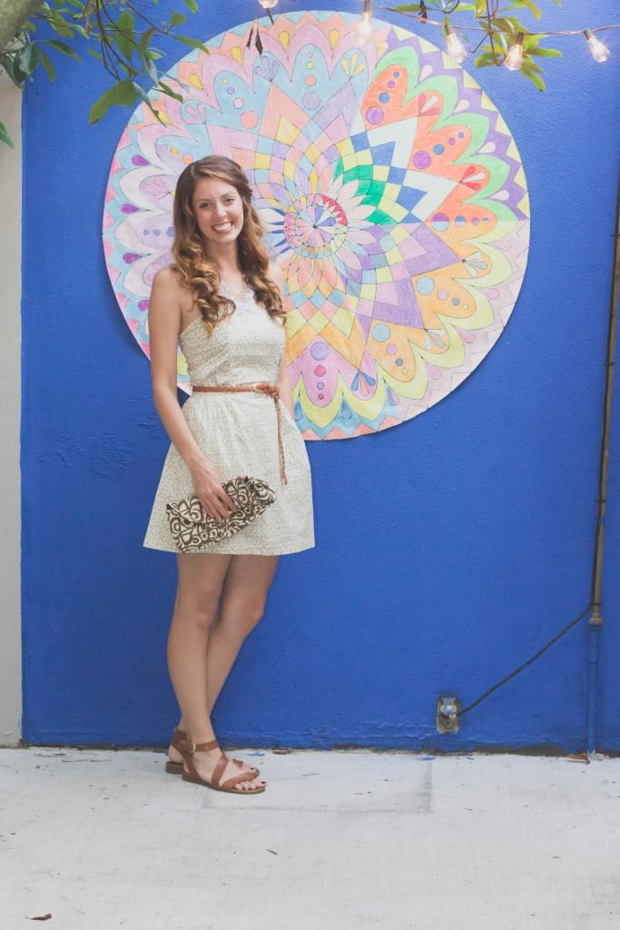 tomo mandala mural blogger party photos