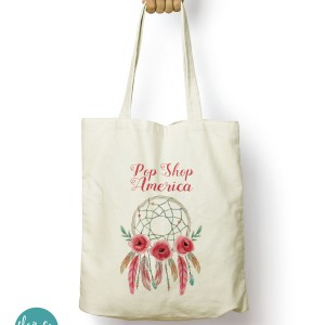 Pop Shop America dreamcatcher tote bag