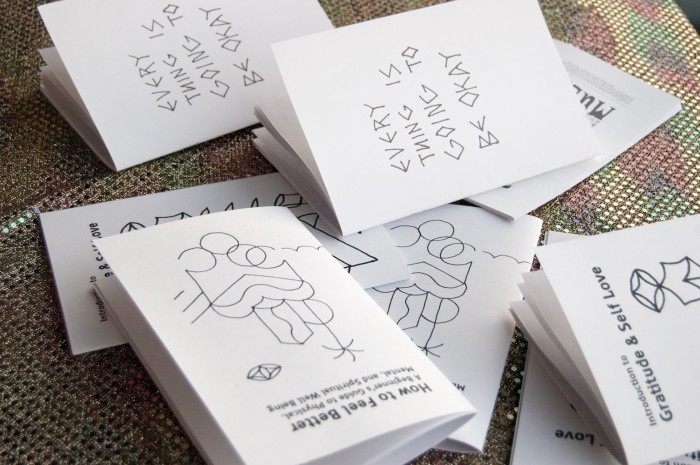 School of Life Design Self Love Zines