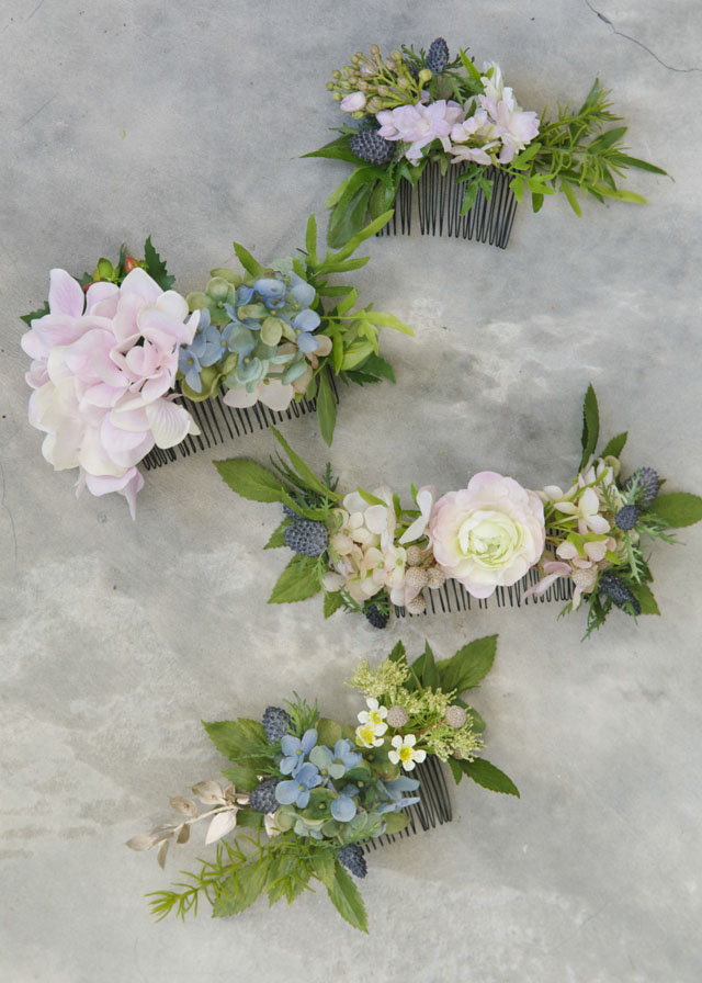 flower-comb-diy-bride and breakfast